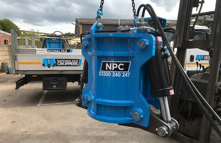 New Contiguous Pile Cropper added to the fleet